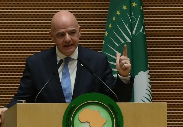 Le Président de l'Union africaine et le Président de la FIFA font le point sur une collaboration réussie